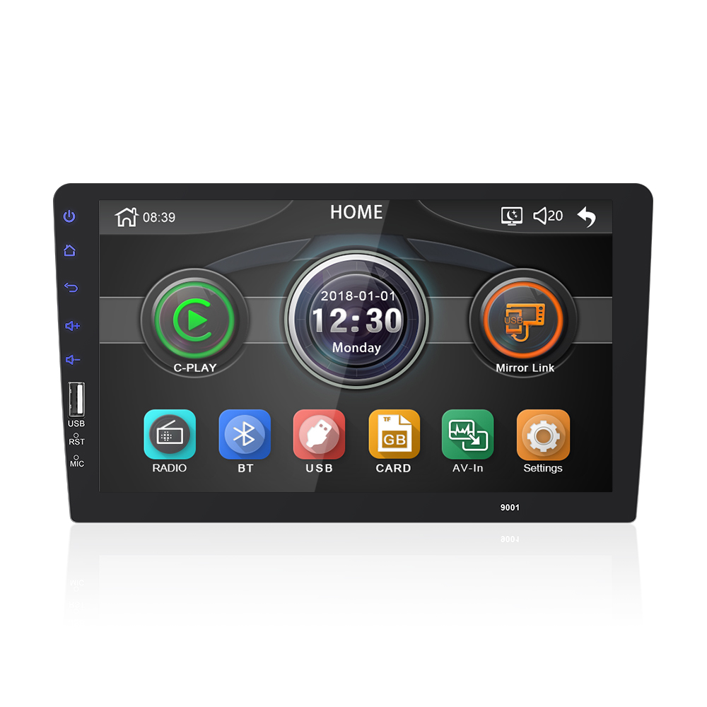 9008MP5- carplay Car Carplay Radio MP5 Stereo Support Carplay work with Android and iphone phone Mirror Link