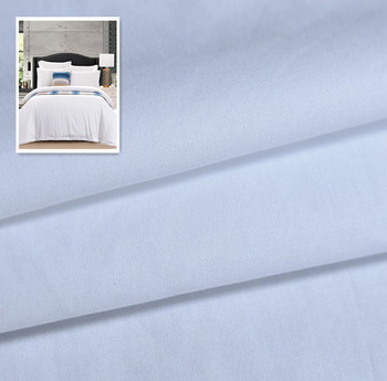 100 Cotton Material Hotel Bed Linen 400 High Thread Count Yarn Fabric