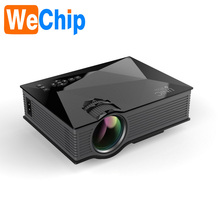 1200 Lumens Mini Video HD Cable Full HD Built-in WIfi LED Projector UC46 PLUS UC46+