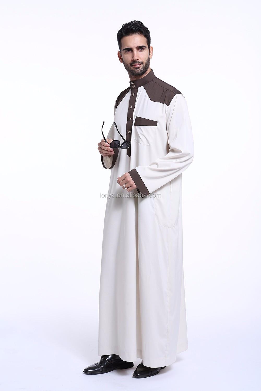 Manufacture Muslim Men Jubah Fashion New Thobe Jubah Latest ...