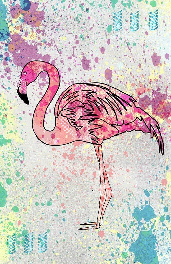 Картинки для лд для срисовки легкие фламинго и единороги
