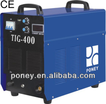 ce portable mosfet HF argon tig welder 400 amp/industrial machine tig welding machine