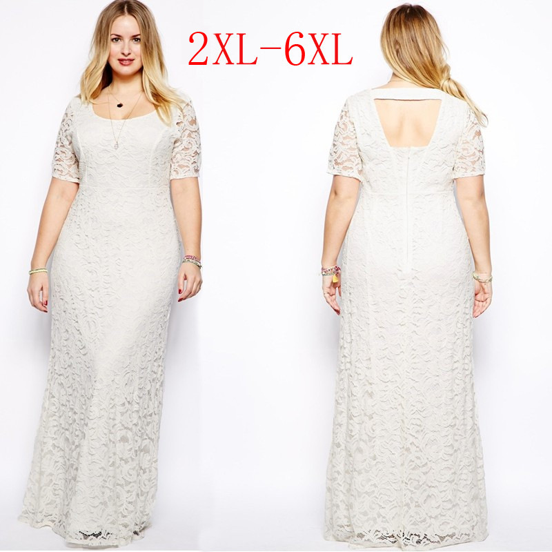 Womens Plus Size Maxi Dress with Sleeves 2015 Spring Long ...