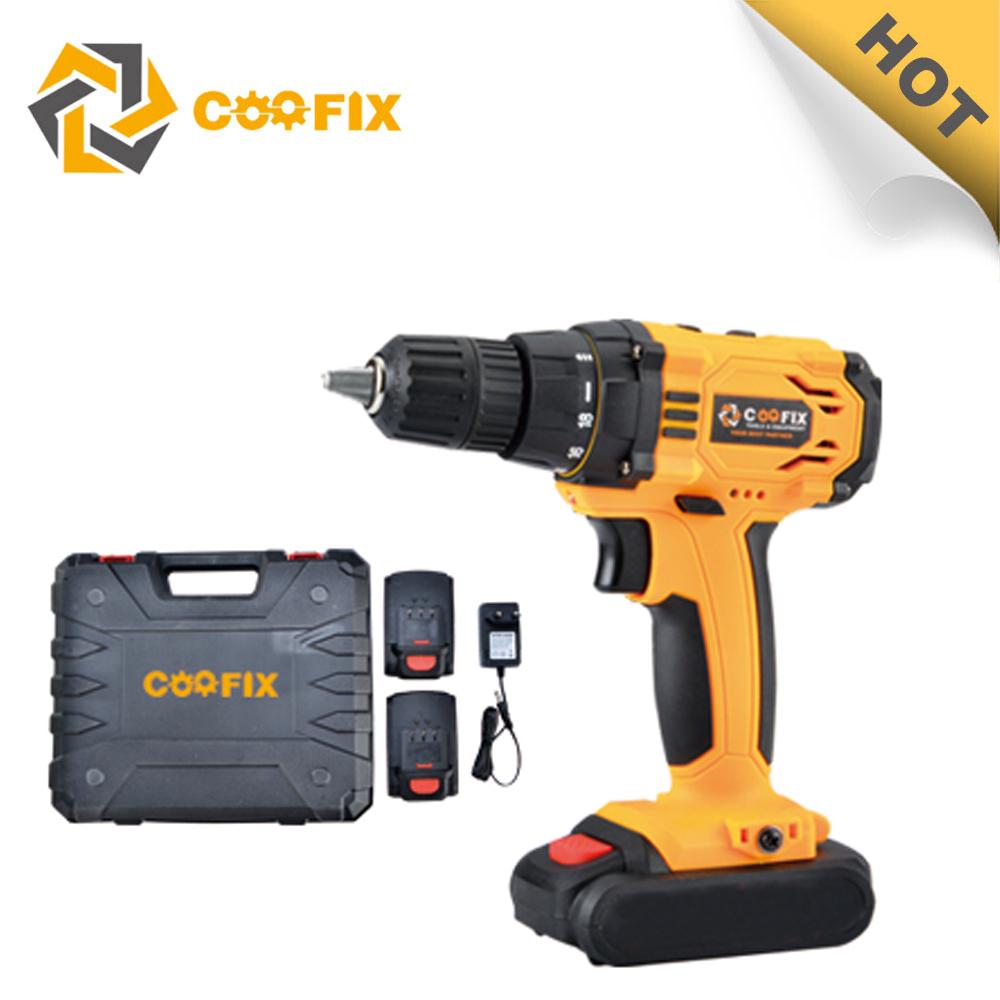 Coofix Cordless Drill 18v Coredless Drill Sets Milwaukee Sds Hammer Drill  18v Wuyi Power Tools - Buy Hammer Drill 18v,18v Cordless Drill,Wuyi Power
