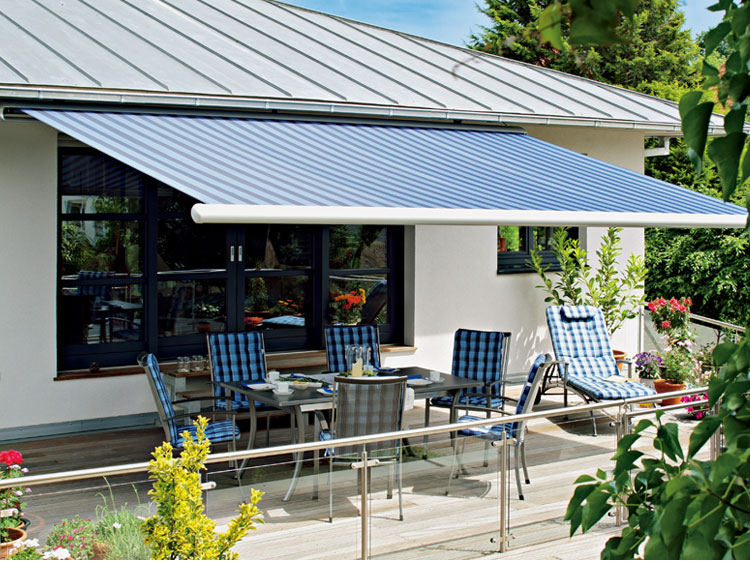 Outdoor Sun Shade Commercial Awning Aluminum Retractable Awning