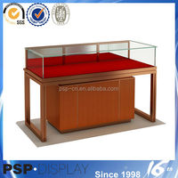 2014 new design modern wood jewelry furniture stores