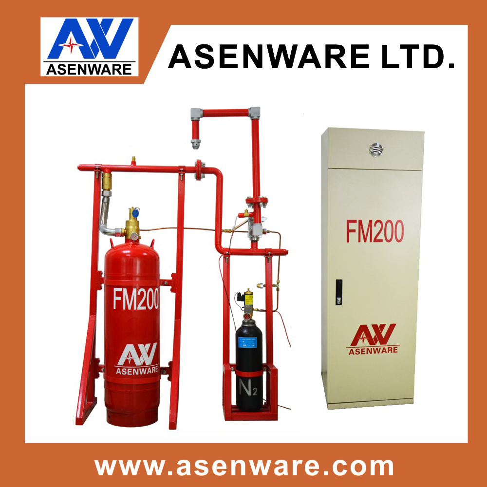HFC-227ea fire protection systems FM200 extinguisher system