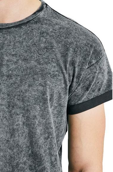 2015 oem hot sale wholesale 100 plain acid wash cotton t for Custom acid wash t shirts