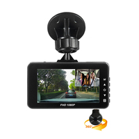 "3"" LCD FHD Ultra Thin Car DVR Vehicle Camcorder Night Vision Dash Cam car Camera Digital Video Recorder"