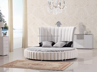 Round Bed, Leather Bed, Fashional Bed