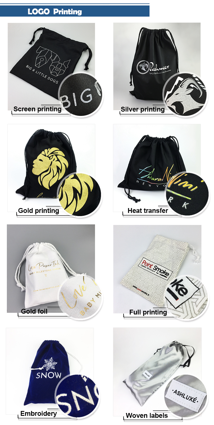 High quality low price cotton dust bag, handbag dustbag