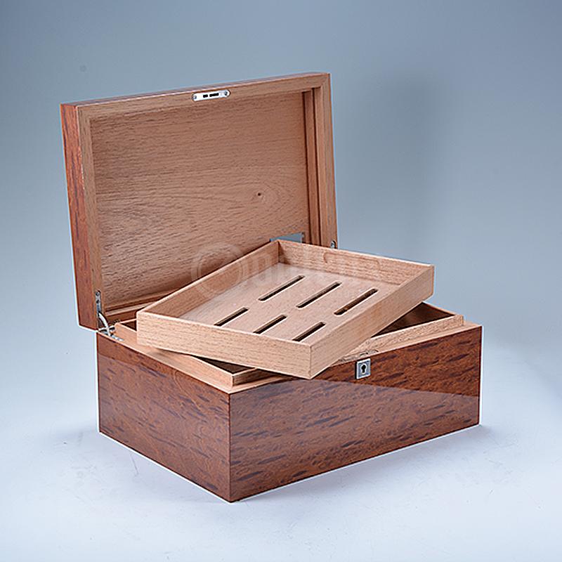 Newest homemade luxury cedar humidor for cigars