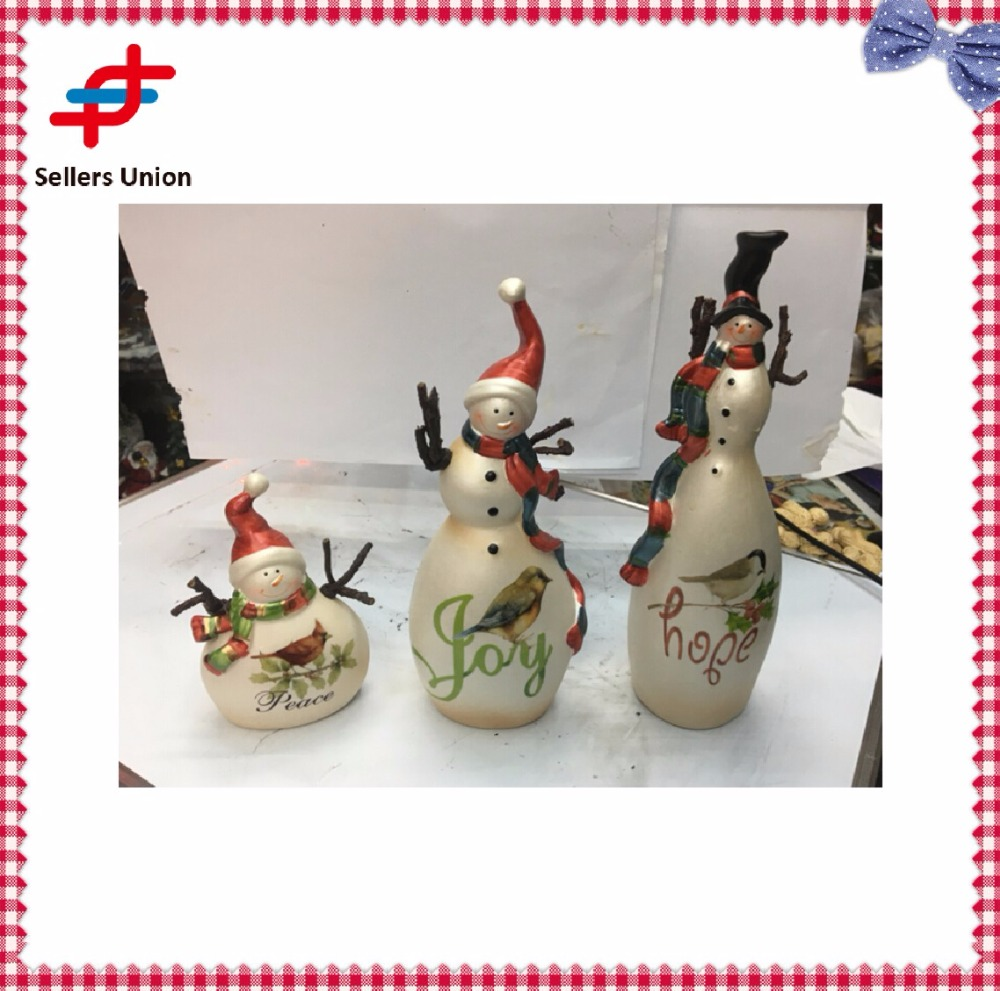 Christmas ceramic furnishing articles home decoration