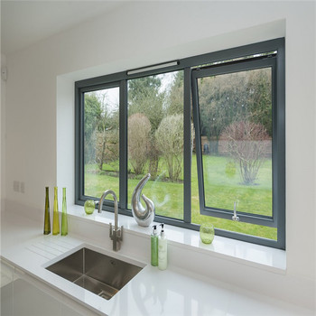 Easy To Operate Cheap Aluminum Awning Window With Low