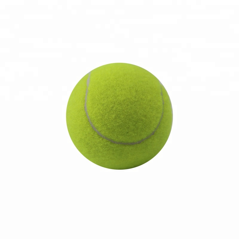 Factory Price Customized Color Rubber Material Pet Dog Chew Toys Tennis Ball Cat Ball
