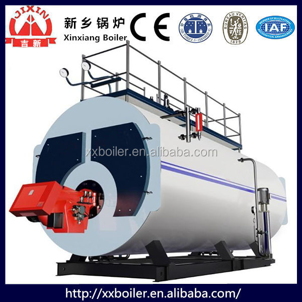 China supplier offer high quality WNS series Oil/gas hot water boiler