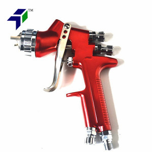 Professional Paint Gun 13Mm Nozzle 600Ml Pot Car Hvlp Spray Gun
