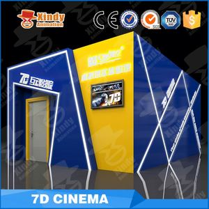 Hydraulic / Electric System Entertainment Park Attractive Design Hot Sale 5D Cinema 5D Theater