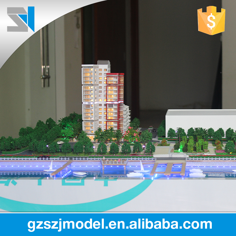 office building exhibition model, model making kits