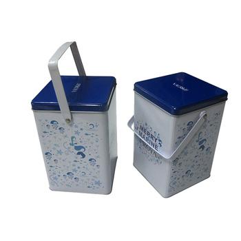 Custom Laundry Detergent TinLaundry Powder Storage TinTin Box For