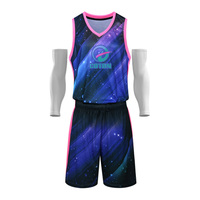 custom logo design college 100% Polyester european sublimation basketball jersey uniform