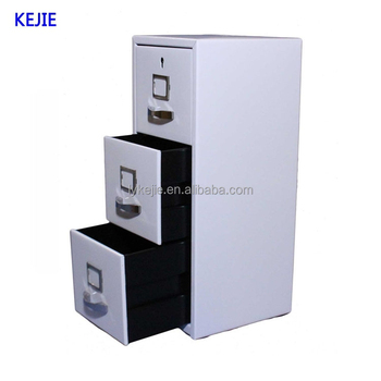 Best Quality Steel 3 Drawer Key Cabinet Steel Filing Cabinet Industrial Metal  File Cabinet With Wheel