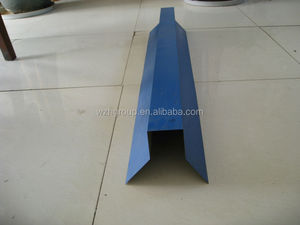 Ceiling ridge cover made of color steel sheet for warehouse/workshop roof