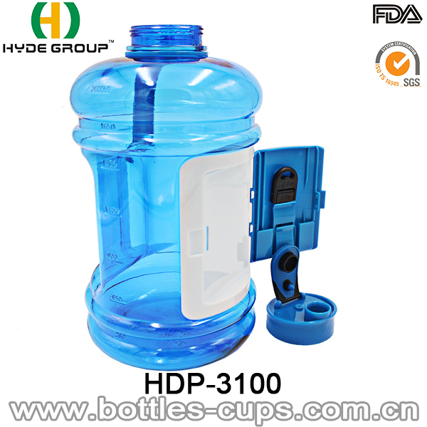 Newly 2.2L Plastic Tritan/PETG Water Jug with Container