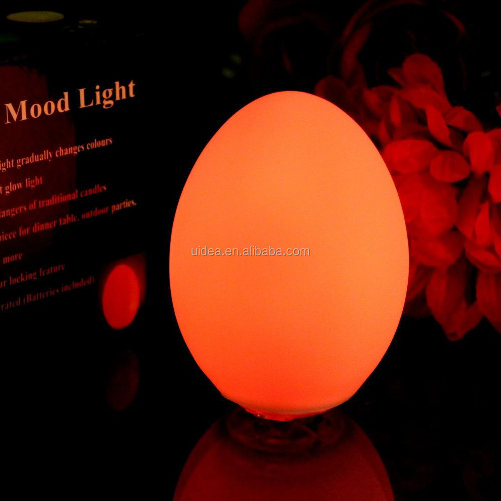 Egg Shaped Led Mood Light, Egg Shaped Led Mood Light Suppliers And  Manufacturers At Alibaba.com