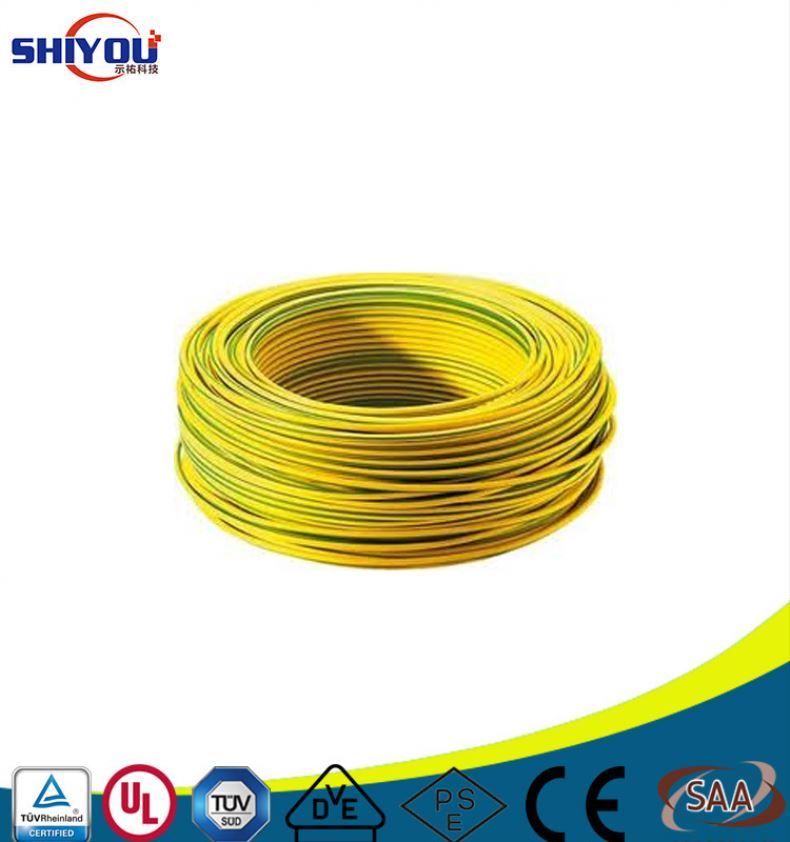 UL 83 THHN Cable 600V Copper Conductor PVC Insulation Nylon Jacket Flame Retardant Thermoplastic Insulated Building Wire