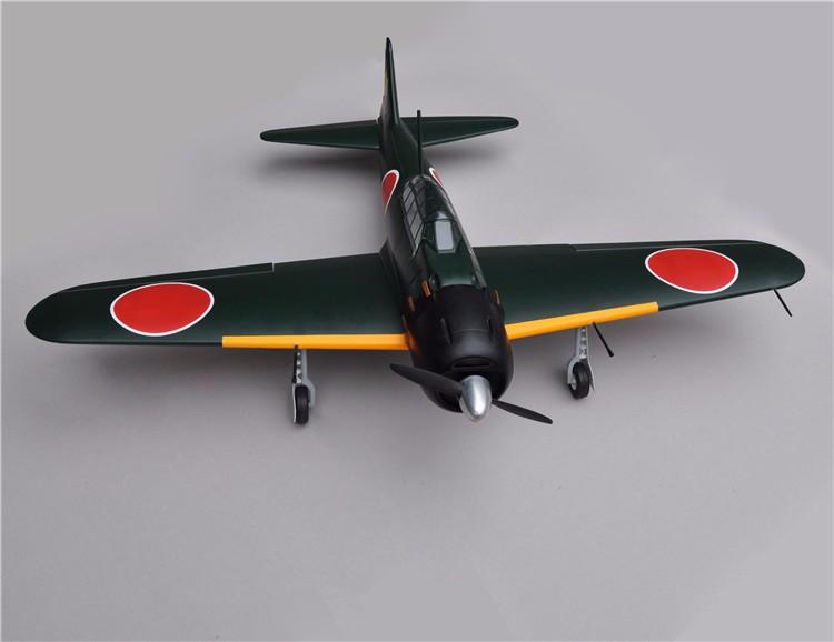 Zero Fighter 46 V2 Adults Outdoor Rc Fiberglass Warbirds
