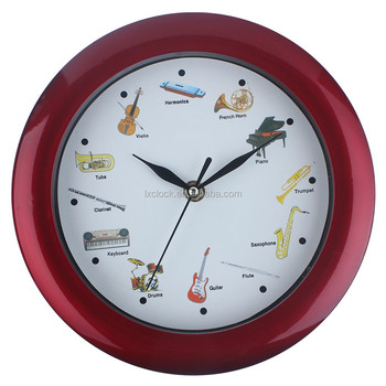 reloj Musical Gracioso De 24 reloj Divertido Diseño 24 Reloj Especial Pared Sonido Buy Campana bfyI7gvY6m