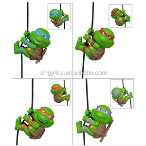 "4pcs NECA Scalers Teenage Mutant Ninja Turtles Figure 2"" Toy Action figure"