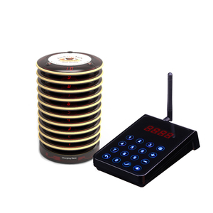 Manufacture Queue Management System Receiver Service Vibrators Paging Guest Customer Fast Food Wireless Buzzer Restaurant Pager