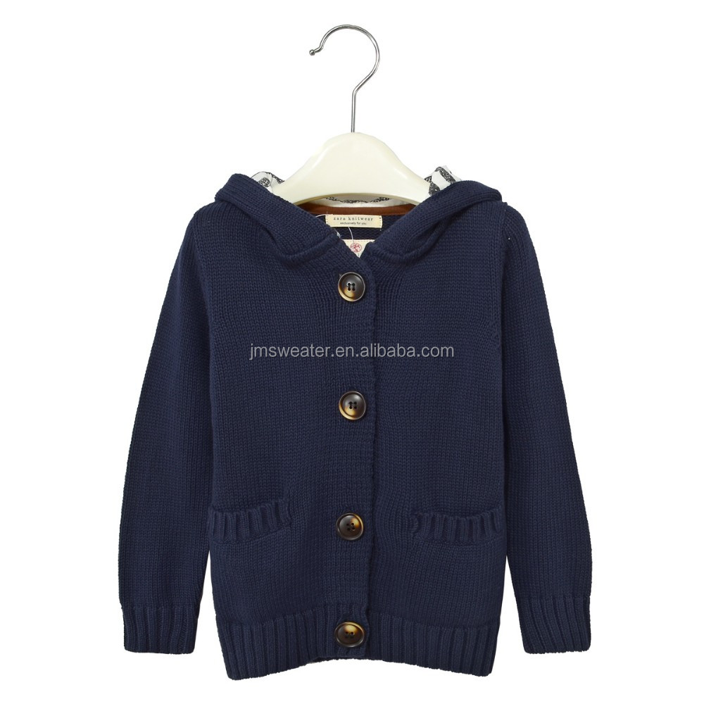 Fancy Children Knitted Sweater Boys Winter Jacket Kids