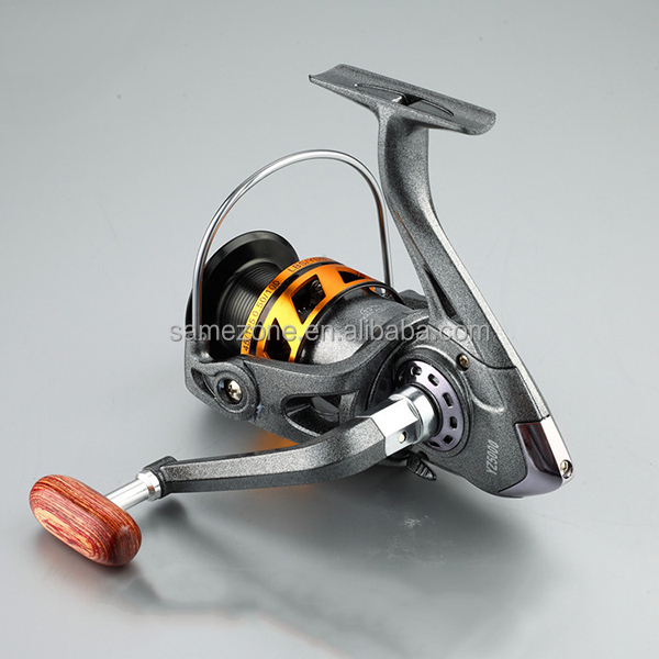 Left/right Interchangeable Collapsible Handle Spinning Fishing Reel with 5.2:1 Gear Ratio