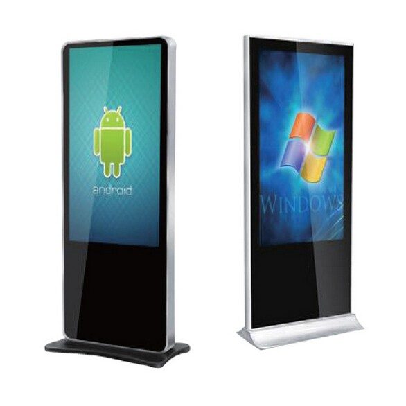 42 inch indoor touch kiosk touch all in one PC digital signage player