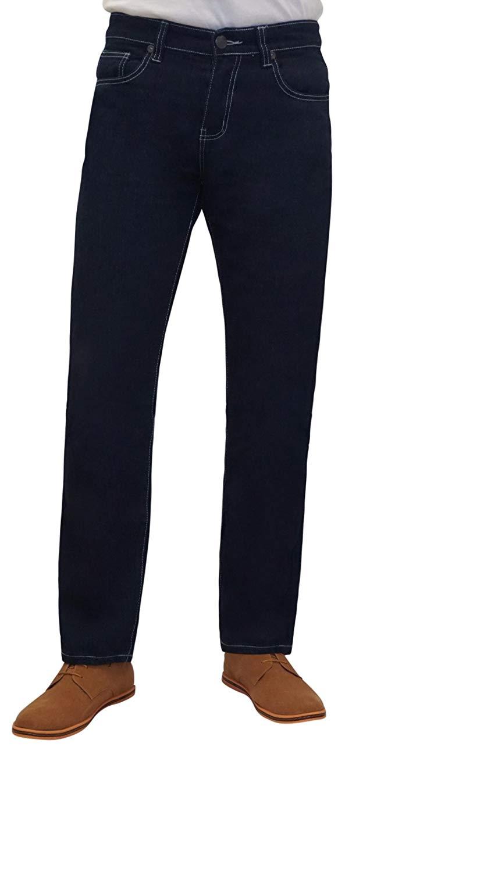 d9a180b4 Get Quotations · BIG JOE Mens Regular Fit Straight Leg Cut Jeans Pants,  Jeans for Men Regular-