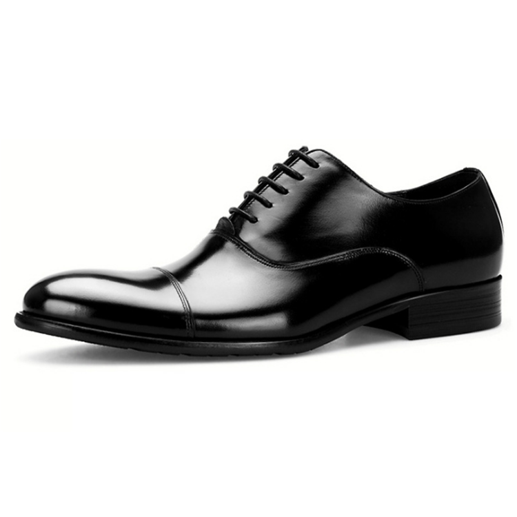 2018 customized genuine leather casual fashion men's dress shoes