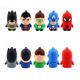 High Quality 3D Cartoon USB Memory Stick Flash Drive U Disk Pendrive For Promotion Gift