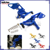 BJ-ARS-MT07B Motorbike CNC Adjustable Rearset Footpeg Rear Set for Yamaha MT07 FZ07