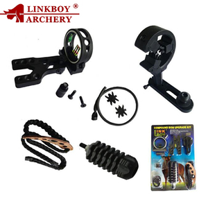 Linkboy archery bow accessories bow sight stabilizer slings arrow rest for compound bow upgrade kit archery shooting hunting