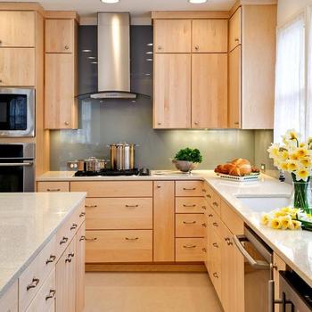 Muebles De Cocina De Madera Maciza De Color Roble Buy Muebles De