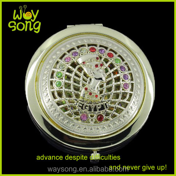 metal compact mirror Wedding Gifts Souvenirs