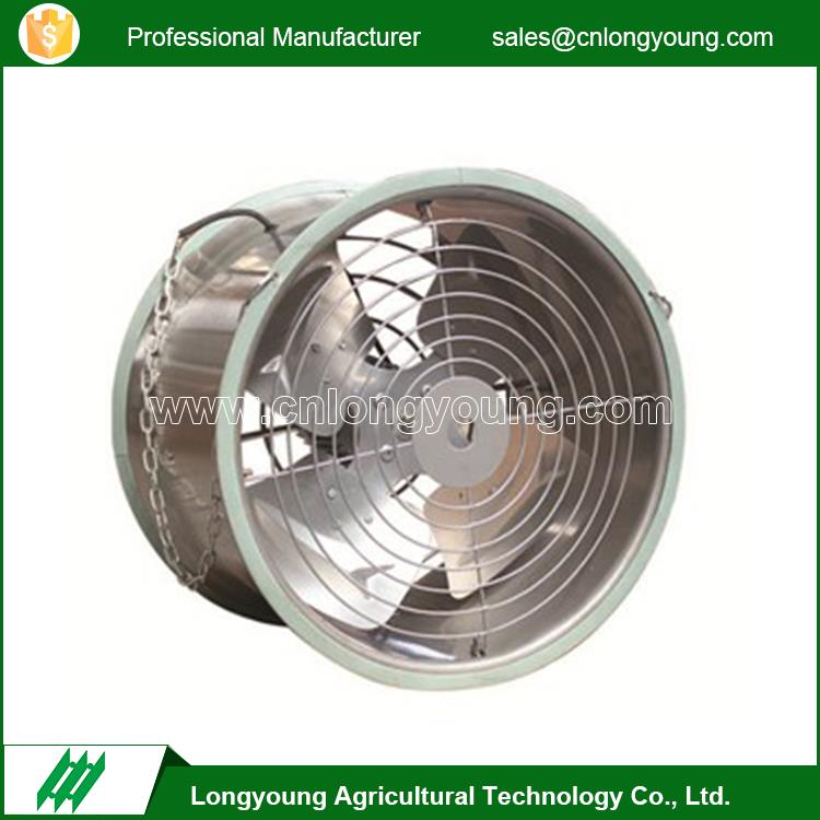 Nice-looking industrial electric small air circulation greenhouse fan
