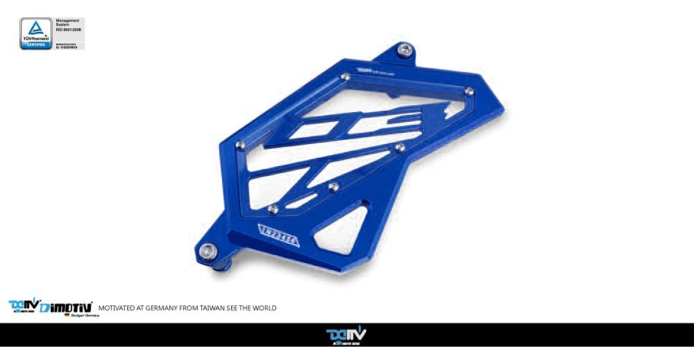 Dimotiv DMV Front Sprocket Cover for YAMAHA MT-03 2015-2016 (BLUE)