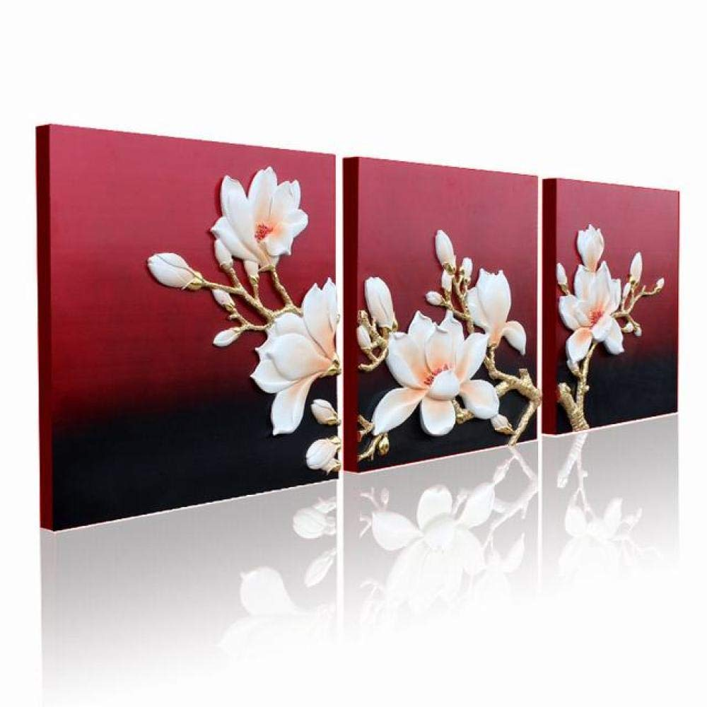 PLLP Triple Relief Embossed Painting, Embossed Wall Decoration, Frameless Modern Decorative Painting, Sofa Background Wall Painting, Embossed Three-Dimensional Painting, Craft Painting