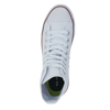 New Stylish Beautiful White Lace-up Women High Top Canvas Shoes