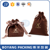 2016 Promotions velvet pouch/bag with logo printed