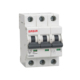 3 pahse 4p 380v circuit breaker changeover switch mcb